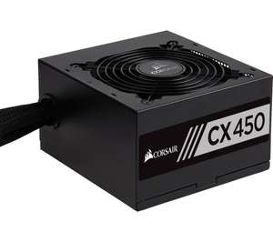 Corsair CX450W PSU £39.99 @ Currys/Amazon