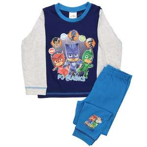 PJ MASKS Pyjamas Sizes: 12-18m, 18-24m, 2-3yrs, 3-4yrs only £3.99 @ Poundstretchers