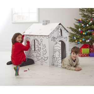 Colour In Cardboard Christmas Grotto £15 @ Hobbycraft - Free c&c