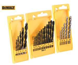 DeWalt Combination Drill bit Set £9.99 @ Toolstation - Free c&c
