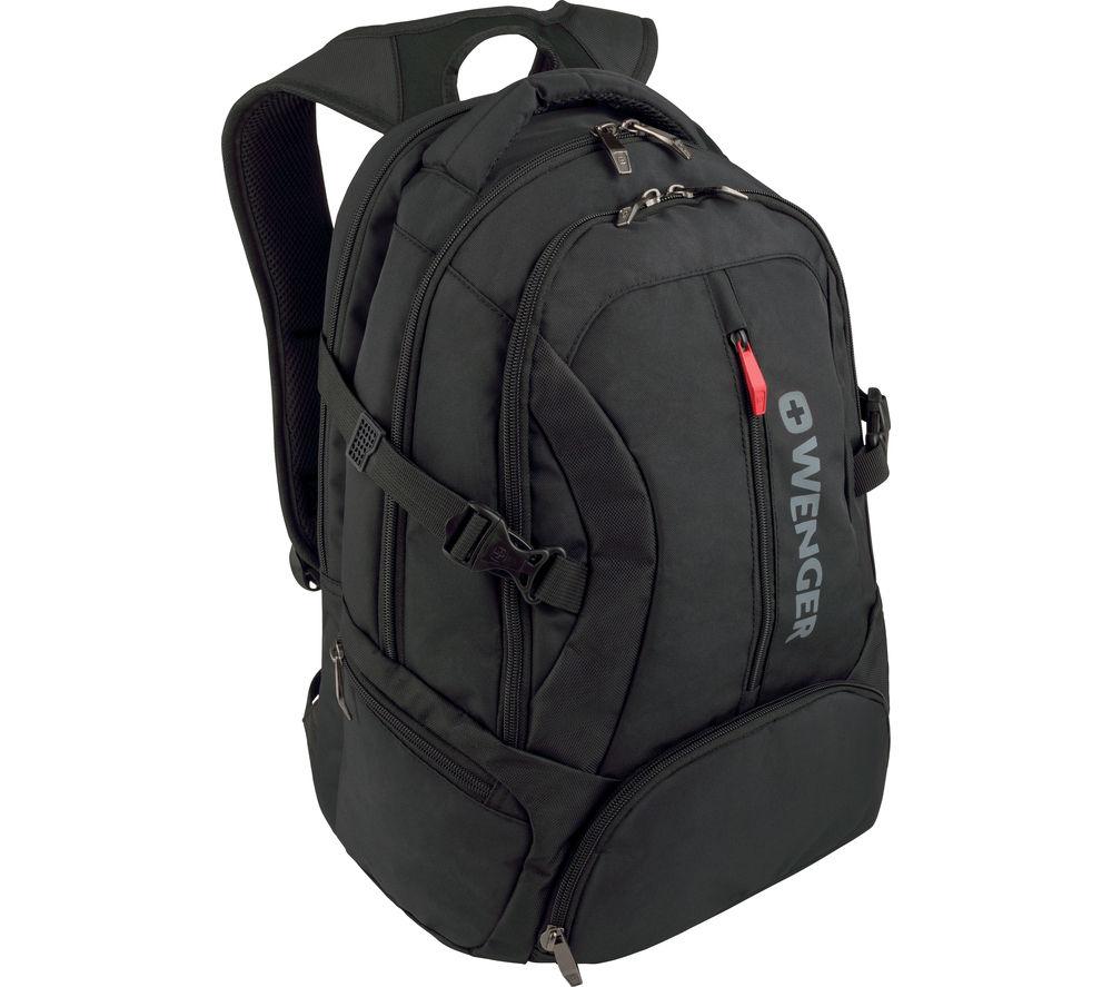 """WENGER Transit 16"""" Laptop Backpack - Black for £19.97 @ Currys"""