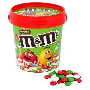 Maltesers And m&m and Skittles buckets 3 for £10 @ tesco