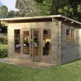 Forest Garden 44mm Log Cabin £2399.89 from Costco