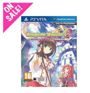 Dungeon Travelers 2: The Royal Library & The Monster Seal PSVita £12.99 / £15.48 delivered @ NISA