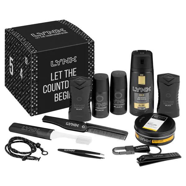 Superdrug LYNX Men's Grooming Count Down 12 Days Advent Calendar Kit £15