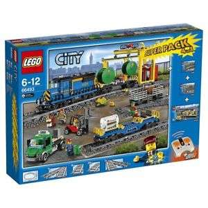 LEGO City 66493 Remote Control Cargo Train, Station, Tracks and Power Functions 4 in 1 Super Pack - £164.10 delivered @ Tesco Ebay