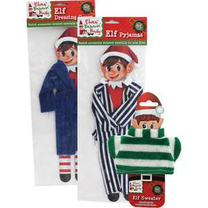 Naughty Elf Costumes Bundle £6 @ The works - Free c&c