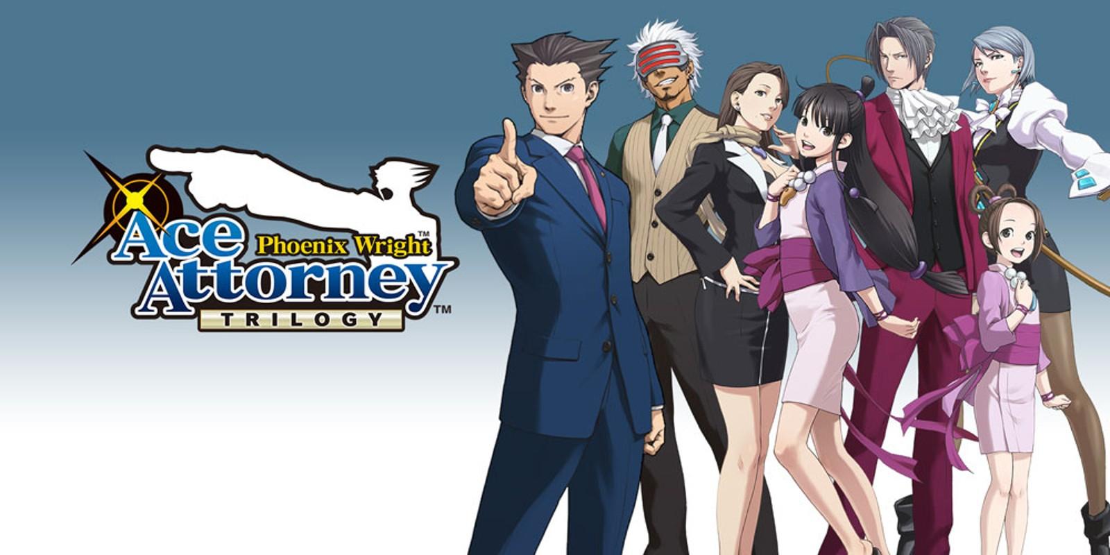 3DS Phoenix Wright: Ace Attorney Trilogy £8.24 @ Nintendo eShop