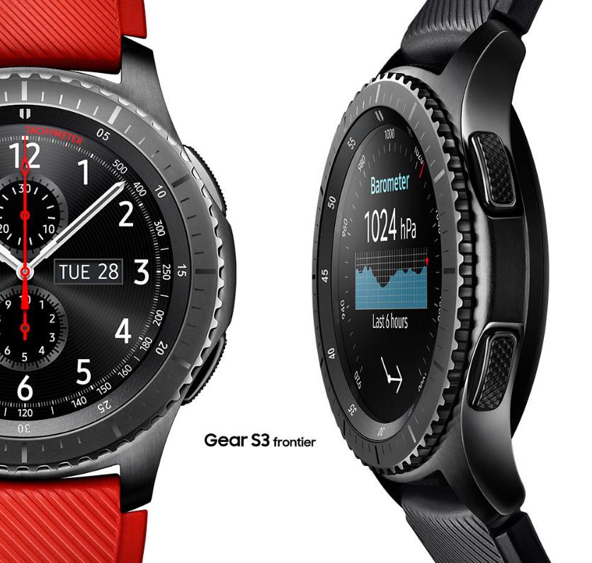 *Double Deal* Samsung Gear S3 SM-R760 Frontier Bluetooth Smart Watch Black @ eGlobalCentral & TobyDeals