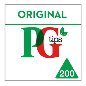 Pg Tips Original 200 Tea Bags £3 @ Tesco