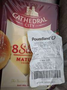 Cathedral City Slices 8 pack £1 @ Poundland