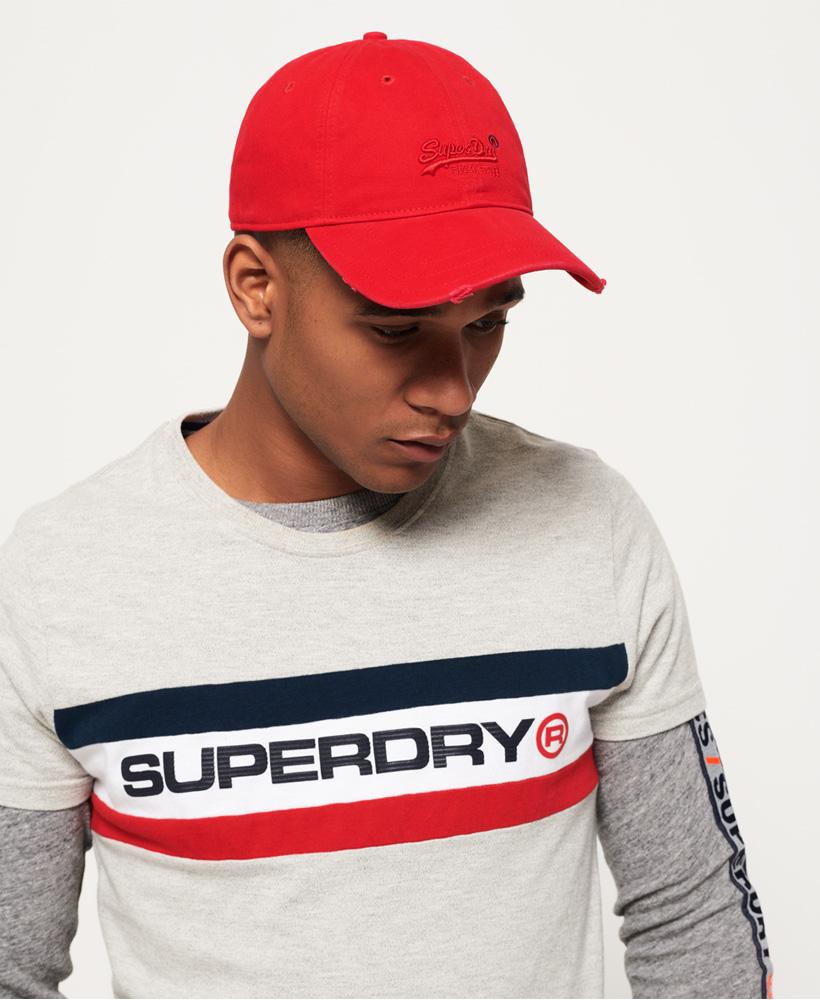 Vintage Logo Orange Label Cap (Red, Green, Blue) £7.50 @ Superdry.com
