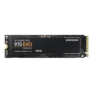 Samsung 970 EVO NVMe M.2 500GB MZ-V7E500BW @ Laptops Direct - £125.96 (Additional £10 off with £1 Which trial available)