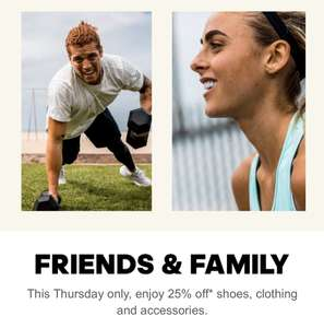 Adidas friends and family - 25% off sale and non sale code FRIENDS - now live