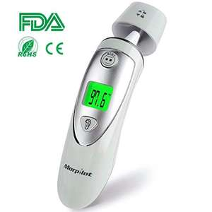 morpilot Ear and Forehead Thermometer £10.99 Sold by MatrixSight and Fulfilled by Amazon (£4.49 delivery non Prime)