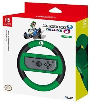 Nintendo Switch Mario Kart 8 Deluxe Wheel Luigi Version £8.55 with code delivered @ Tesco outlet eBay