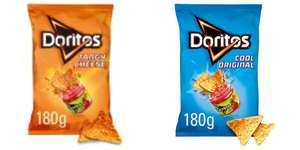 Doritos Cool And  Tangy Cheese Tortilla Chips 180G 60p @ Heron Foods - Also buy 2 get free bowl