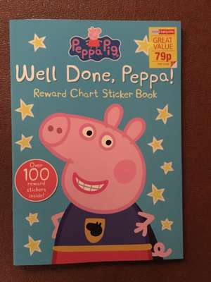 Peppa Pig & other characters sticker books @ Homebargain 79p