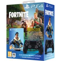 PS4 Dualshock 4 Controller & (Fortnite Bomber Jacket + 500 V-Bucks DLC) - £49.99 @ GAME.co.uk