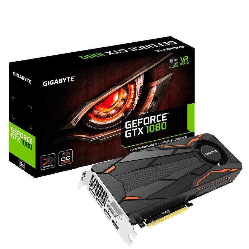 Gigabyte GTX 1080 TURBO OC 8GB £399.98 @ Ebuyer