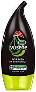 Vosene Men's Anti-Dandruff Shampoo 250 ml - Pack of 6 - £4.22 (Prime) £8.71 (Non Prime) @ Amazon
