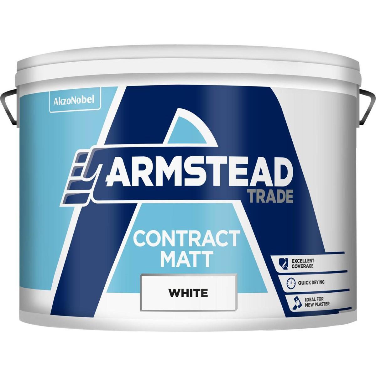 Armstead Contract Matt 10L £15 @ Travis Perkins