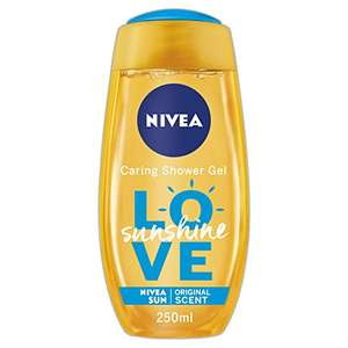 NIVEA Shower Gel with Aloe Vera, Sunshine Love, 250 ml, 90p (add on item) at amazon