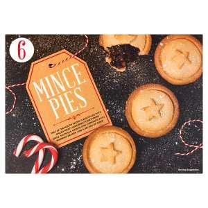 6 Mince Pies 50p at Iceland