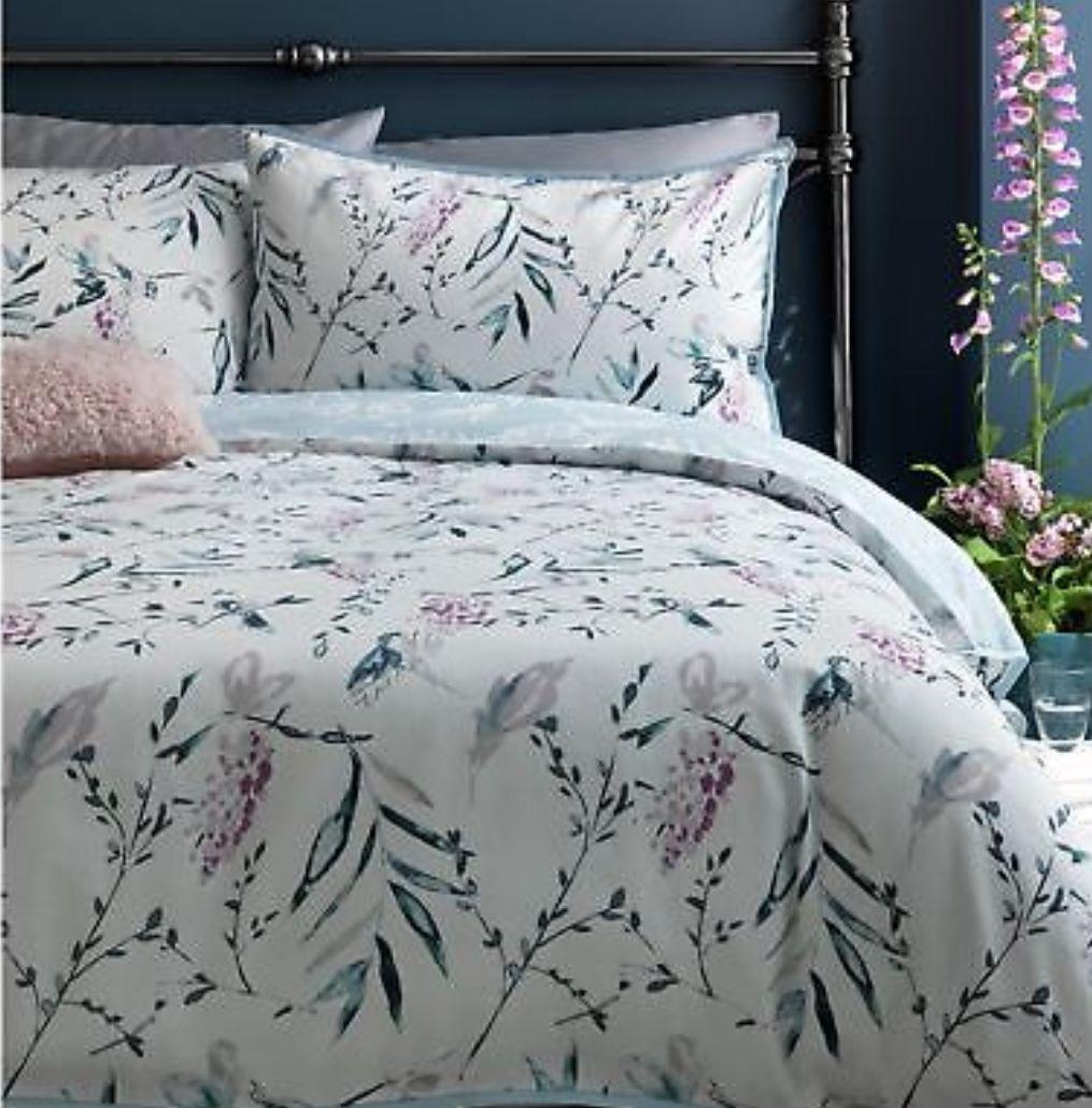 100% Cotton Argos Home Grace Bedding Set -- Superking - £10.99 (Free C&C) @ eBay Argos Store