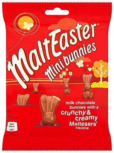 MaltEaster Mini Bunnies Bag, Pack of 12 amazon prime £6.01 / Non-Prime £10.50