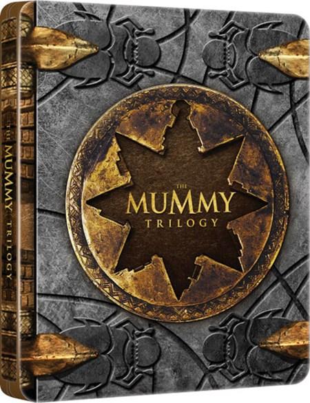 The Mummy Trilogy Blu-ray Steelbook £9 w/ code @ Zoom