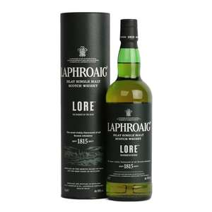 Laphroaig Lore only £59.90 Was £76 @ The Whisky World