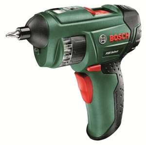 Bosch PSR Select Cordless Screwdriver with Integrated 3.6 V Lithium-Ion Battery £34.99 @ Amazon