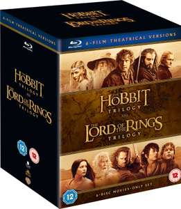 Middle Earth Collection Blu Ray Boxset (Lord of the Rings Trilogy and The Hobbit Trilogy) £20.99 delivered at Zavvi
