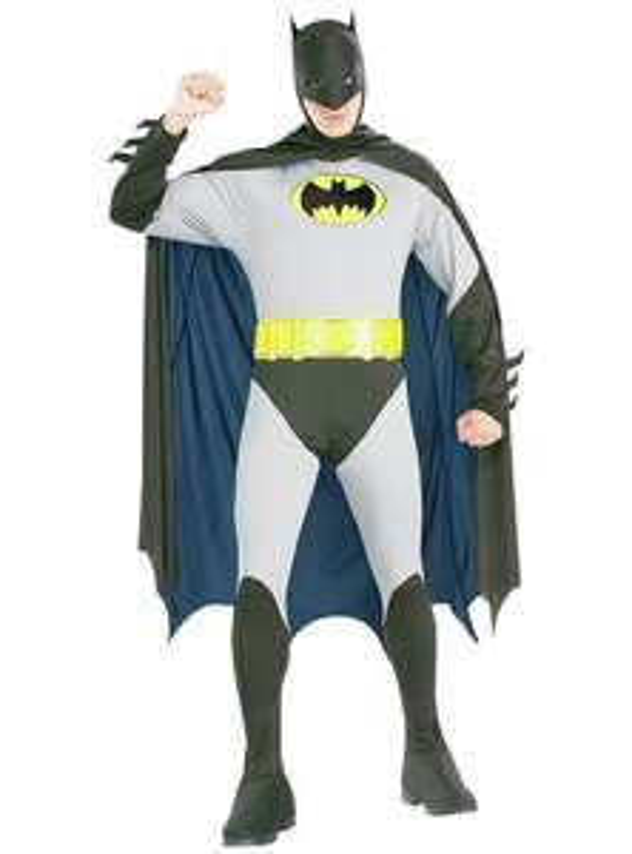 DC Batman Fancy Dress Costume - Small/Medium Large/Xlarge £14.99 Argos
