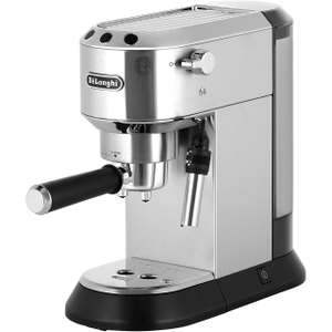 De'Longhi Dedica Traditional Pump EC685.M Espresso Coffee Machine - Silver / Black £139 (£89 after £50 cashback from ao) @ AO