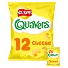 12 bags Walkers Quavers Wotsits Monster Munch French Fries or Squares Half Price only £1.47 @ Tesco