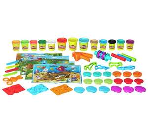 Play-Doh Adventure Zoo Playset (Includes 13 cans of Play-Doh) - now £9.99 @ Argos