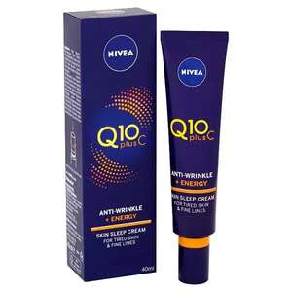 NIVEA Q10 Vitamin C Sleep Face Cream Anti-Wrinkle + Energy at Superdrug for £4.50