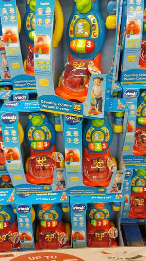 Vtech counting colours vacuum cleaner  £17 instore at Sainsbury's