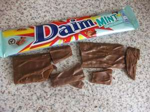 Mint Daim Bars 3 for £1 at Home Bargains