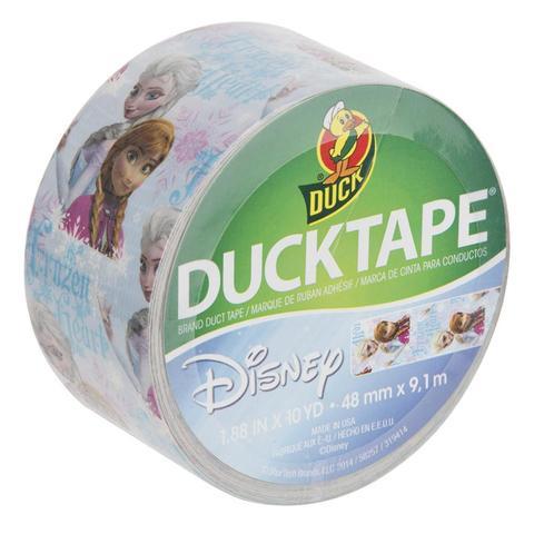Disney Frozen Ducktape Olaf or Elsa & Anna design 9.1m long 48mm wide £1.99 + 99p £2.98 delivered @ Brooklyn Trading