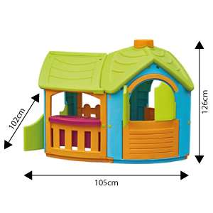Outdoor Playhouse Villa with extension! Brilliant price for the size!! £13.89 for prime users / £18.38 non-prime users