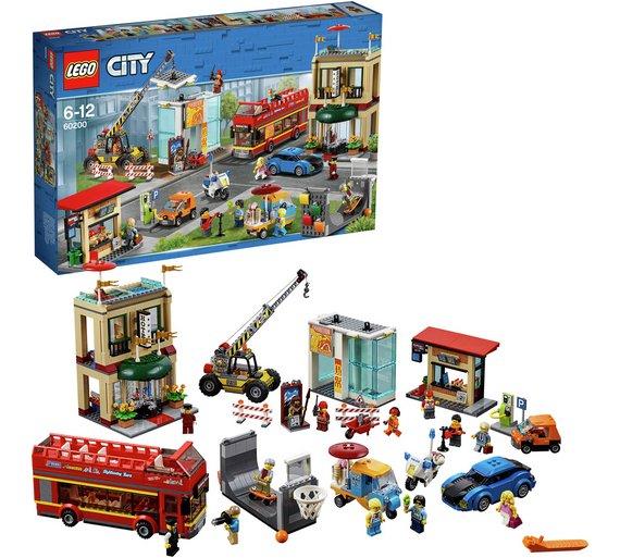 Lego capital city  Toy Town Construction Set - 60200 £79.99 @ Argos