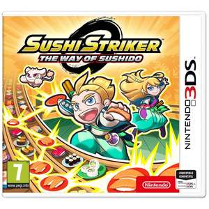 Sushi Striker: The Way of Sushido 3DS £14.99 @ Smyths Toys