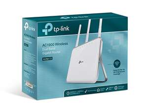 TP-Link Archer C9 AC1900 Dual Band Wireless Gigabit Cable Gaming Router (Used - Like New) £58.59 @ Amazon warehouse