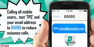 Reduce nuisance calls to your mobile OFCOM/TPS (Free Service)