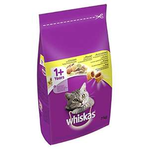 Whiskas One Plus Complete Dry Cat Food with Chicken, 7 kg - £13.37 @ amazon pantry./ £2.99 delivery applies.