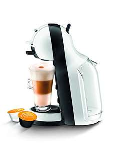 NESCAFÉ Dolce Gusto Mini Me Coffee Machine Starter Kit by De'Longhi, White/Black £49.99 @ Amazon