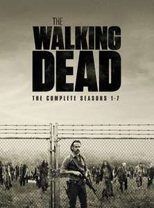 Walking Dead 1-7 DVD Boxset for £24.99 (with any other purchase) @ HMV
